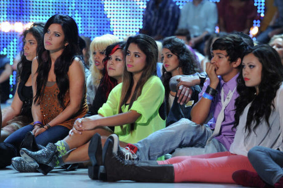 """THE X FACTOR: The contestants perform a solo of their choice on the first night of """"Boot Camp"""" in Miami, FL. (                                                      )"""