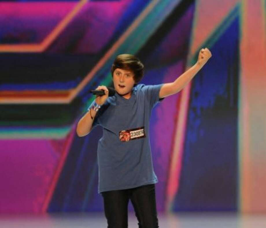 THE X FACTOR: Trevor Moran performs in front of the judges on an all new epsiode of THE X FACTOR airing Thursday, Sep. 27 (8:00-9:00PM ET/PT) on FOX. CR: Ray Mickshaw/ FOX
