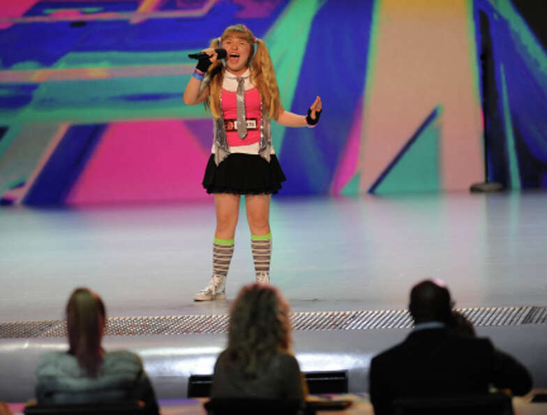 THE X FACTOR: Jordyn Foley performs in front of the judges on an all new epsiode of THE X FACTOR air