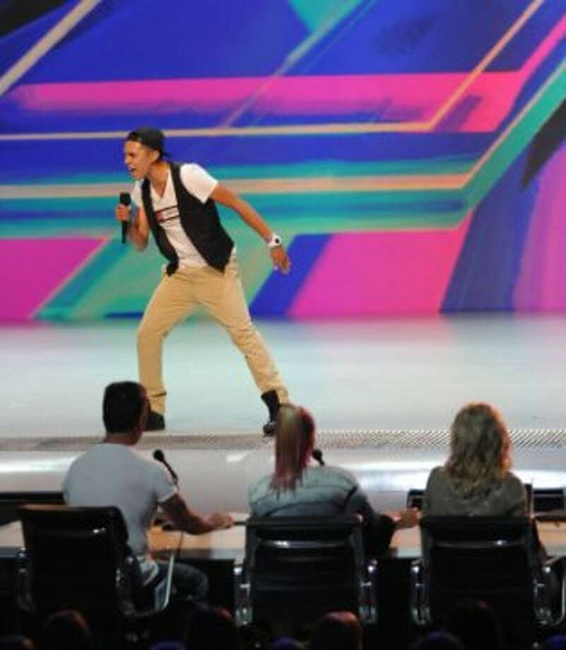 THE X FACTOR:  Johnny Maxwell performs in front of the judges on part-two of the two night season premiere of THE X FACTOR airing Wednesday, Sept. 12 and Thursday, Sept. 13 (8:00-10:00PM ET/PT) on FOX. CR: Ray Mickshaw/ FOX