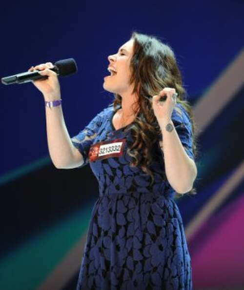THE X FACTOR: Sophie Simmons performs in front of the judges on an all new epsiode of THE X FACTOR a