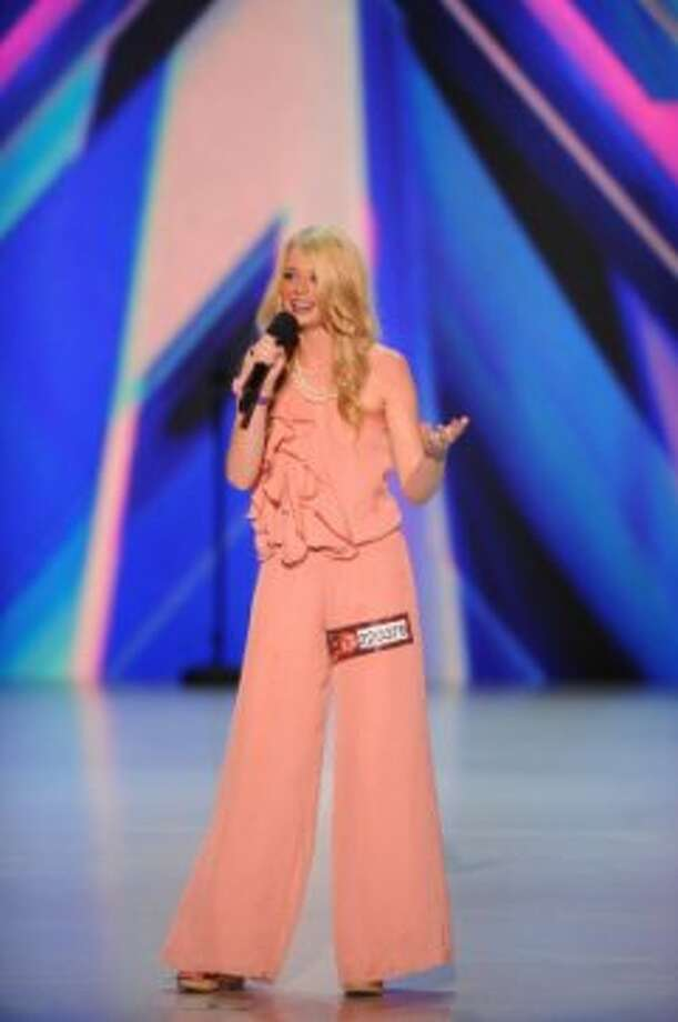 THE X FACTOR: Kaci Newton performs in front of the judges on part-one of the two night season premiere of THE X FACTOR airing Wednesday, Sep. 12 and Thursday, Sep. 13 (8:00-10:00PM ET/PT) on FOX. CR: FOX (                                                      )
