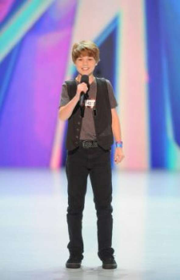 THE X FACTOR: Reed Deming performs in front of the judges on part-one of the two night season premiere of THE X FACTOR airing Wednesday, Sep. 12 and Thursday, Sep. 13 (8:00-10:00PM ET/PT) on FOX. CR: David Moir / FOX (                                                      )