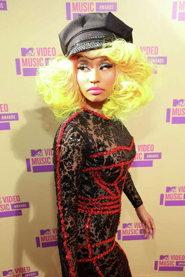 Confirmed:Wait, this isn't Nicki Minaj's real hair?  Photo: Christopher Polk / 2012 Getty Images