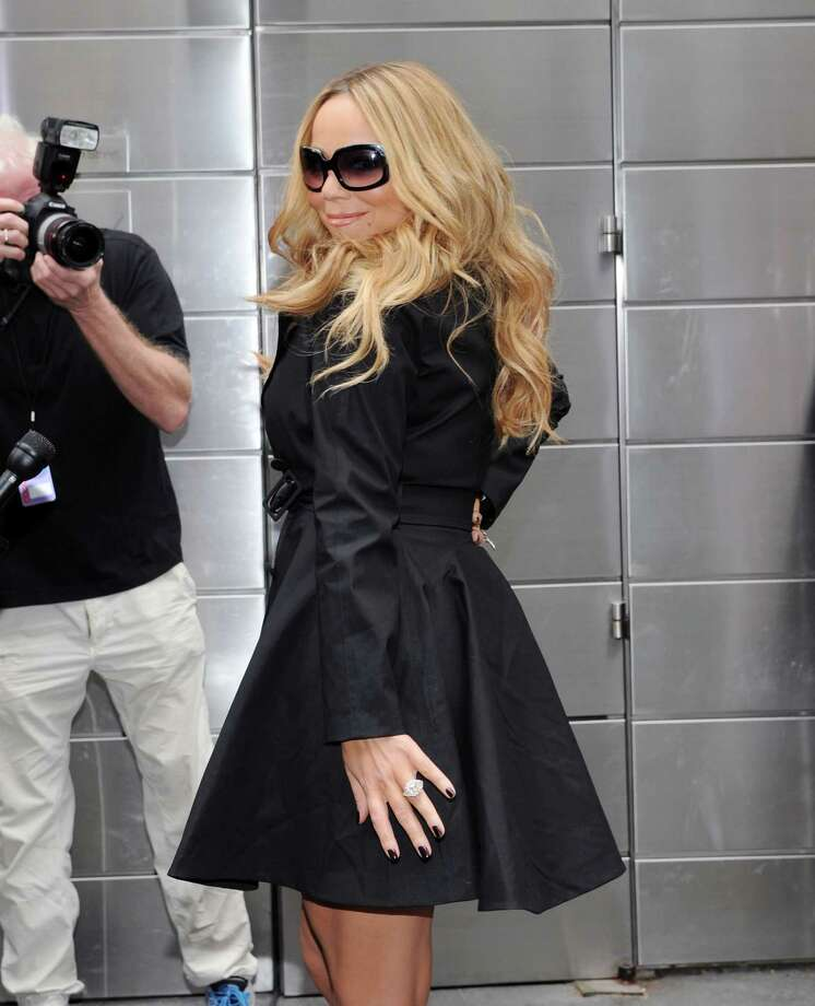 Mariah Carey is such a diva she doesn't even have to sing.  Photo: Ilya S. Savenok / 2012 Getty Images