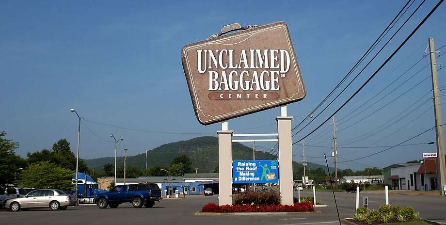 The Unclaimed Baggage Center in Scottsboro, Ala., which sells cargo and luggage that have gone unclaimed at airports, is the size of a city block. Photo: Jane Engle, Los Angeles Times