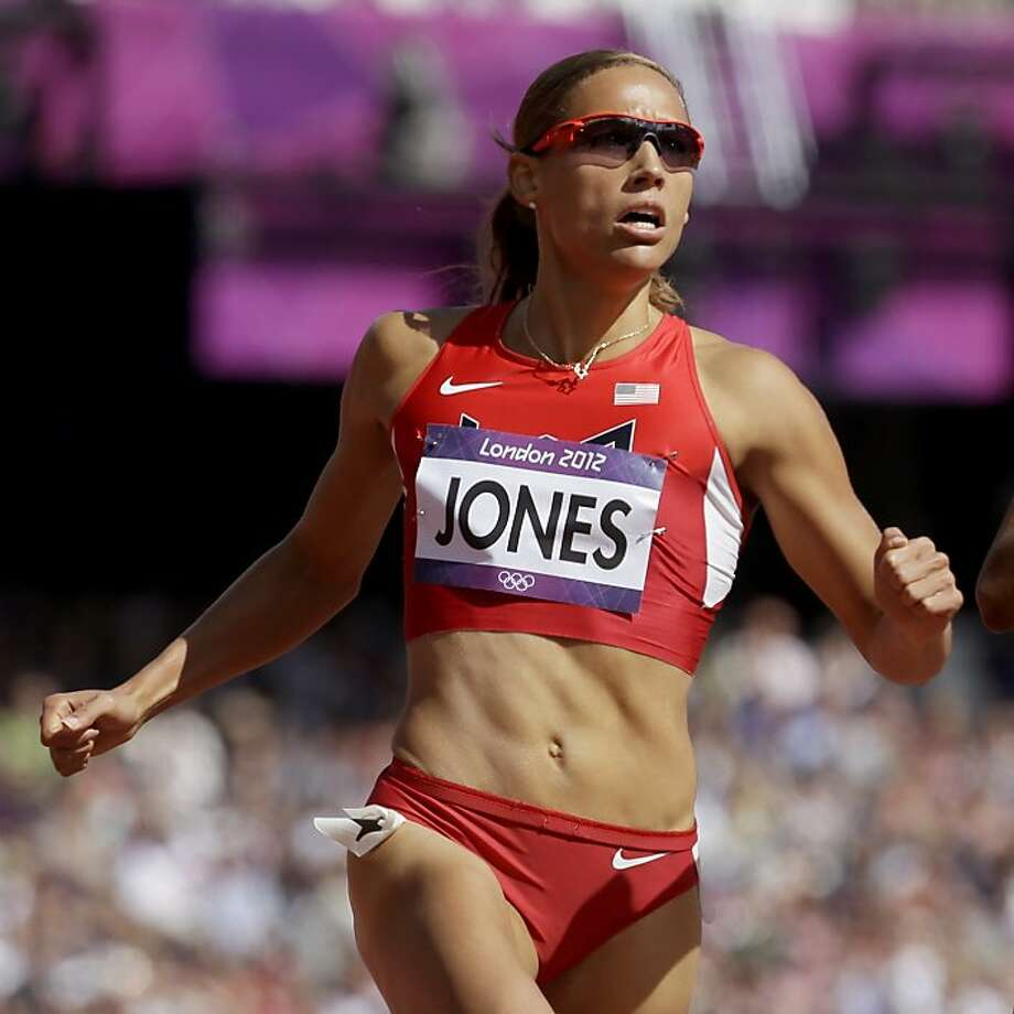 Lolo Jones Photo: Anja Niedringhaus, Associated Press