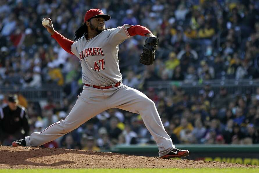 Johnny Cueto is the first pitcher since 1968 to throw 200-plus innings and not allow a steal.