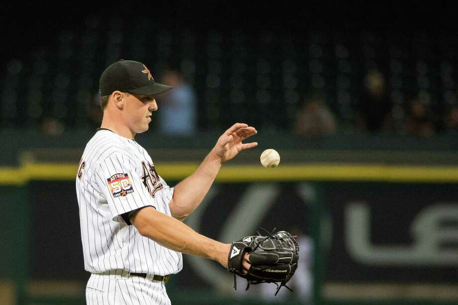 Astros right fielder Brian Bogusevic was involved in a season highlight as well as a lowlight. Two months before his RBI single produced the team's first walk-off victory, Bogusevic was called to the mound for mop-up duty. Photo: Smiley N. Pool / © 2012  Smiley N. Pool