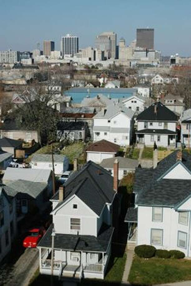 #2, Dayton, OH 12-Month Averages: Rental vacancy rate: 11.3% Homeowner vacancy rate: 5.4% Dayton has the distinction of suffering the highest average homeowner vacancy rate in the country, according to the Census Data. And Dayton's average rental vacancy rate, at 11.3 percent, is higher than the 75 city average of 9.2 percent. Photo: CNBC