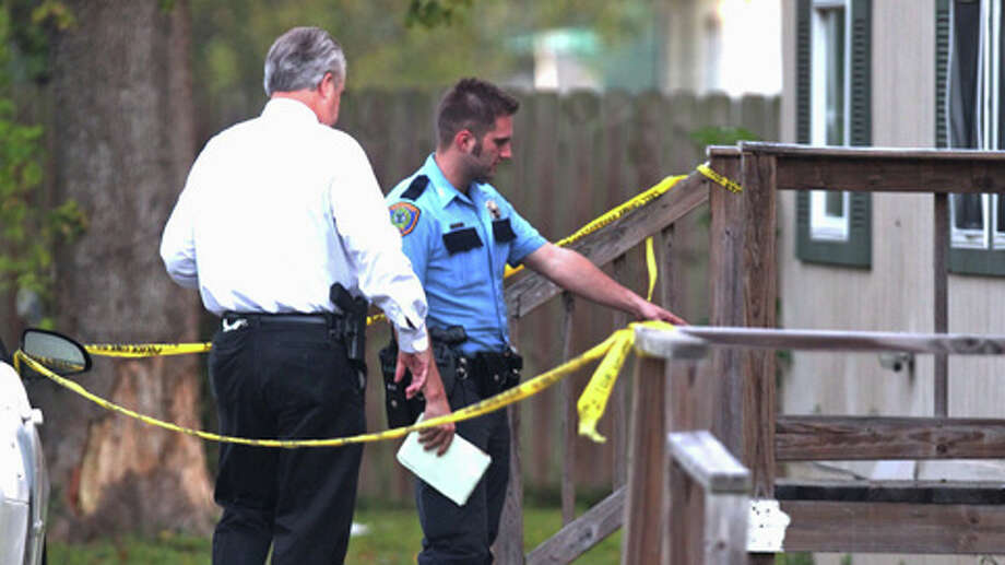 The Houston Police Department is investigating the scene where a northwest Houston man was shot at his front door when he came home about 2:45 a.m. Thursday in the 1000 block of South Lane near Wheatley. Photo: .
