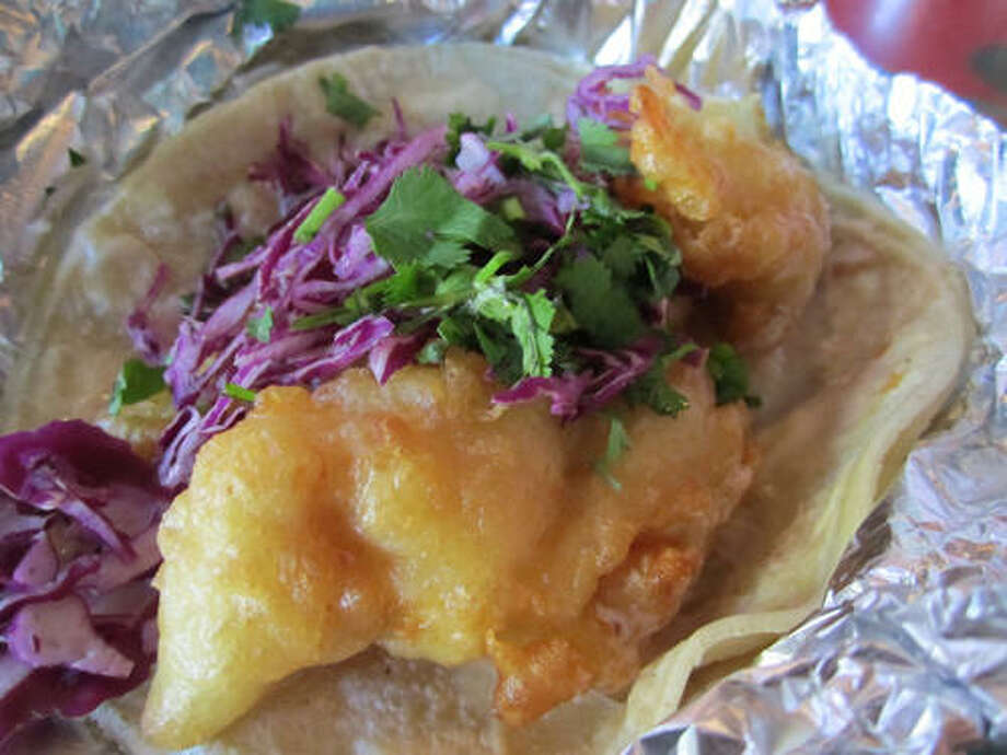 Check out these other Houston restaurants that make tasty fish tacos. Photo by Syd Kearney.