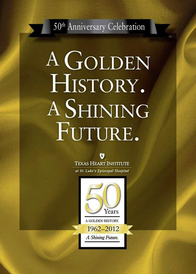 The Heart Institute s 50th anniversary gala invitation. Photo: Courtesy THI