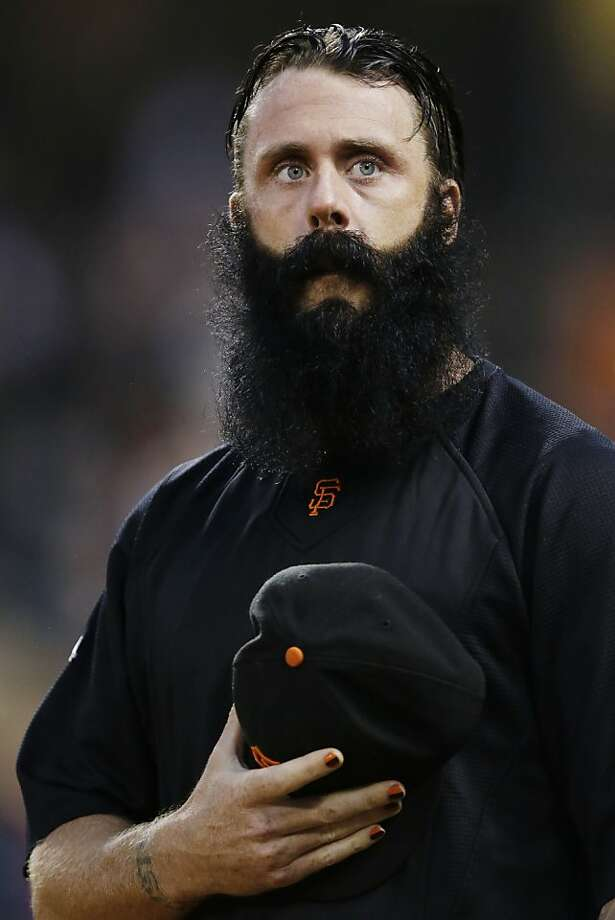 Closer Brian Wilson, a key player in 2010's title run, could be in his final days as a member of the Giants. Photo: Marcio Jose Sanchez, Associated Press