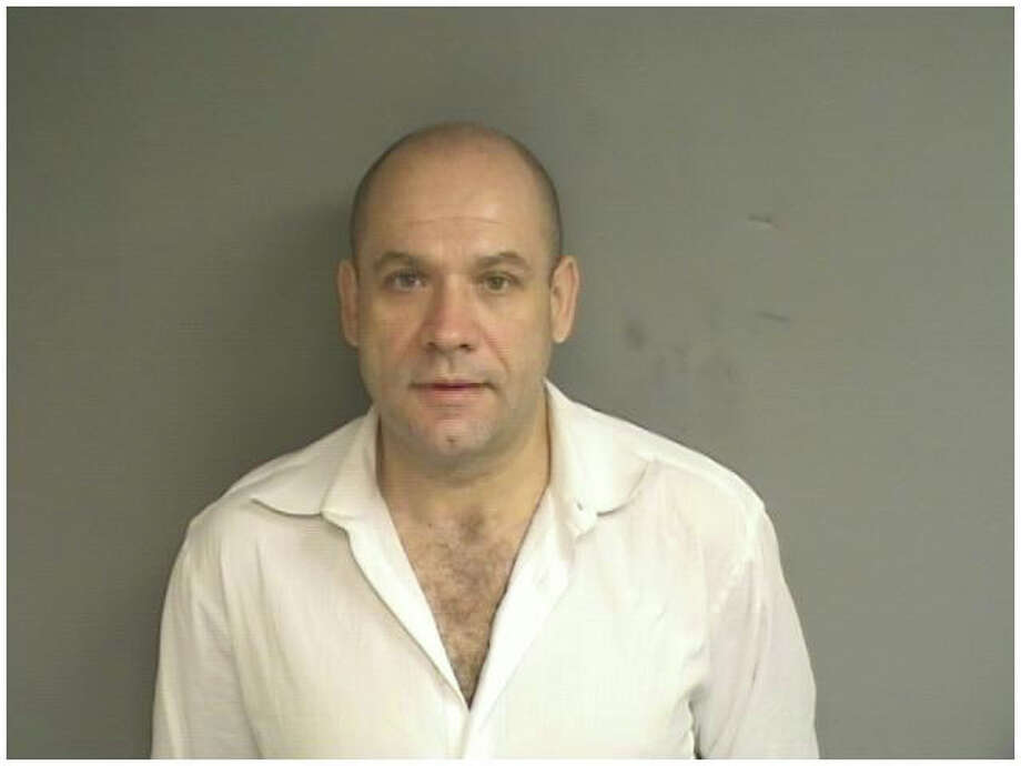 Dimitri Taranov, 43, of 15 Stanwick Place,Stamford was charged in an arrest warrant with illegal cultivation of a hallucinogen and manufacture of a controlled substance. He was held in lieu of $500,000 bond. Photo: Contributed Photo