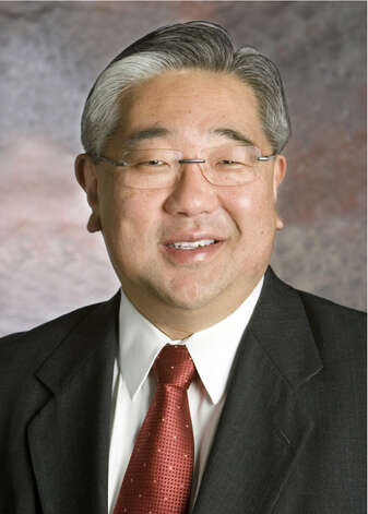 Judge Peter Sakai presides in the 225th District Court. He has been a 2009 national Japanese American Leadership delegate to Japan and is a member of the U.S.-Japan Council in Washington, D.C. Photo: Courtesy