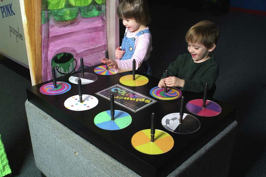 """Color Play"" is a new exhibition, created for kids of all ages, at Bridgeport's Discovery Museum & Planetarium that explores the art and science of color. Photo: Contributed Photo"