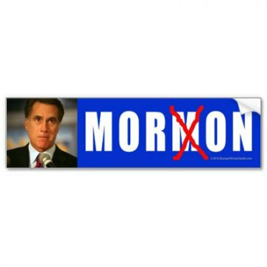 More fun with words. View: http://www.zazzle.com/anti_romney_sticker_moron_bumper_sticker-128677022954743128