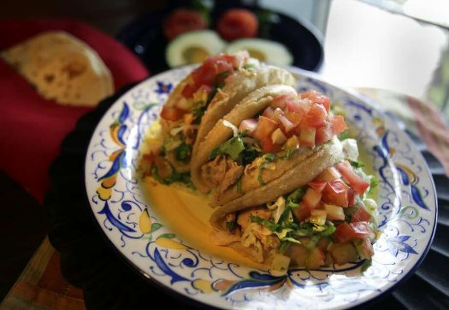 The item of its namesake, Henry's Puffy Tacos on Bandera at Loop 410. (San Antonio Express-News)