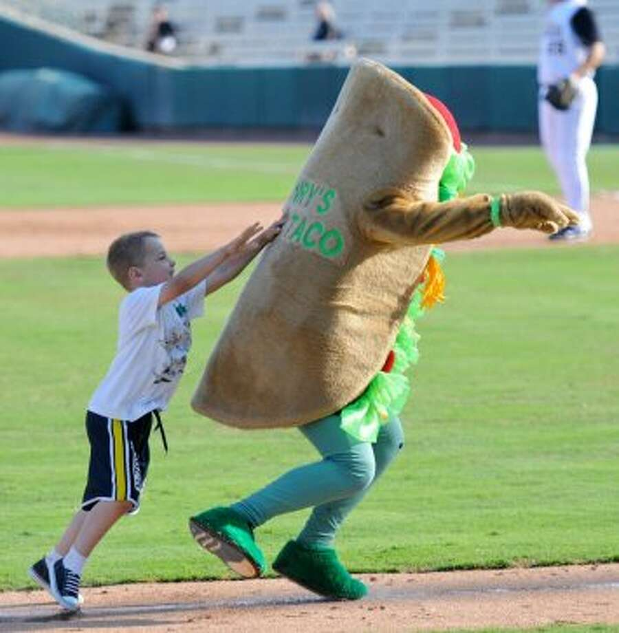 Henry the Puffy Taco, a mascot favorite at San Antonio Missions baseball games. Also: former mayor Phil Hardberger, H-E-B, HemisFair Park and Henry B. Gonzalez Convention Center.