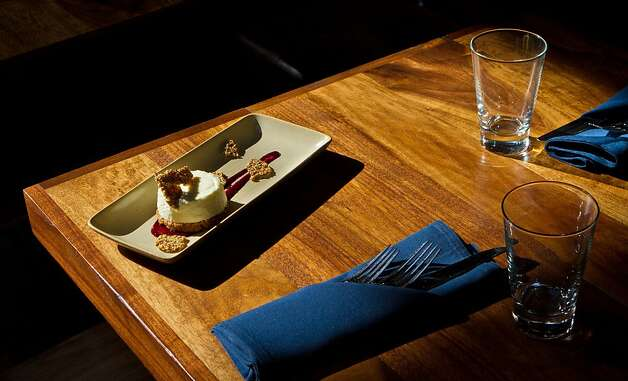 The Sour Cream Cheesecake at Abbot's Cellar in San Francisco, Calif., is seen on Thursday, Sept. 27th, 2012. Photo: John Storey, Special To The Chronicle
