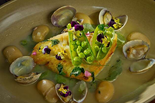 The Ling Cod with Manila Clams at Abbot's Cellar in San Francisco, Calif., is seen on Thursday, Sept. 27th, 2012. Photo: John Storey, Special To The Chronicle