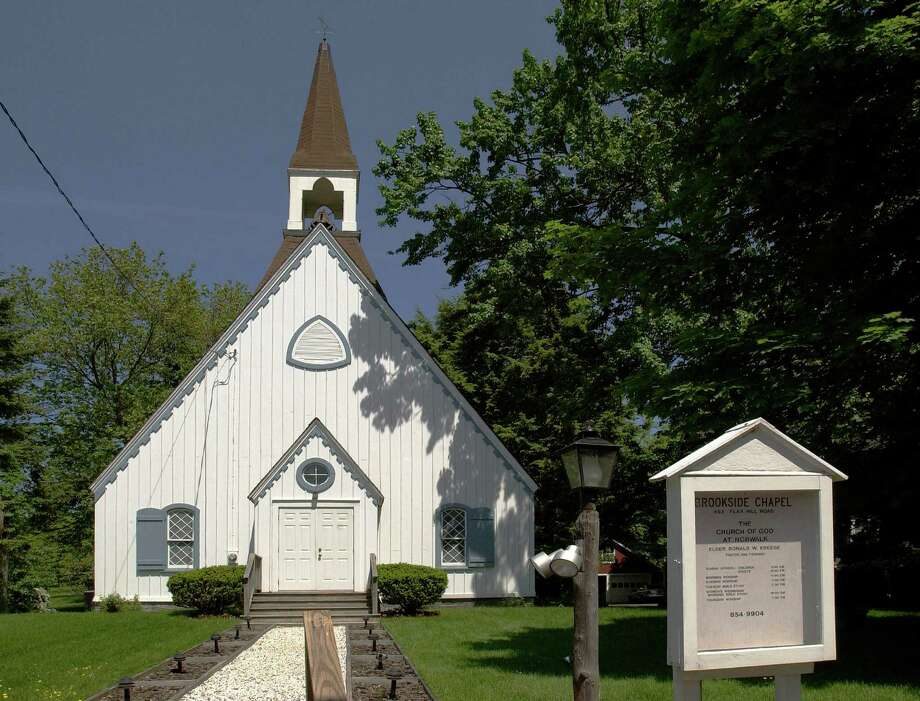 Join the Norwalk Preservation Trust on a bus tour of the chapels, including Brookside Chapel depicted here, schools and stores that served as centers of 19th century life in rural hamlets within the town. The tour will take place on Sunday, Oct. 14. Photo: Contributed Photo / Norwalk Citizen