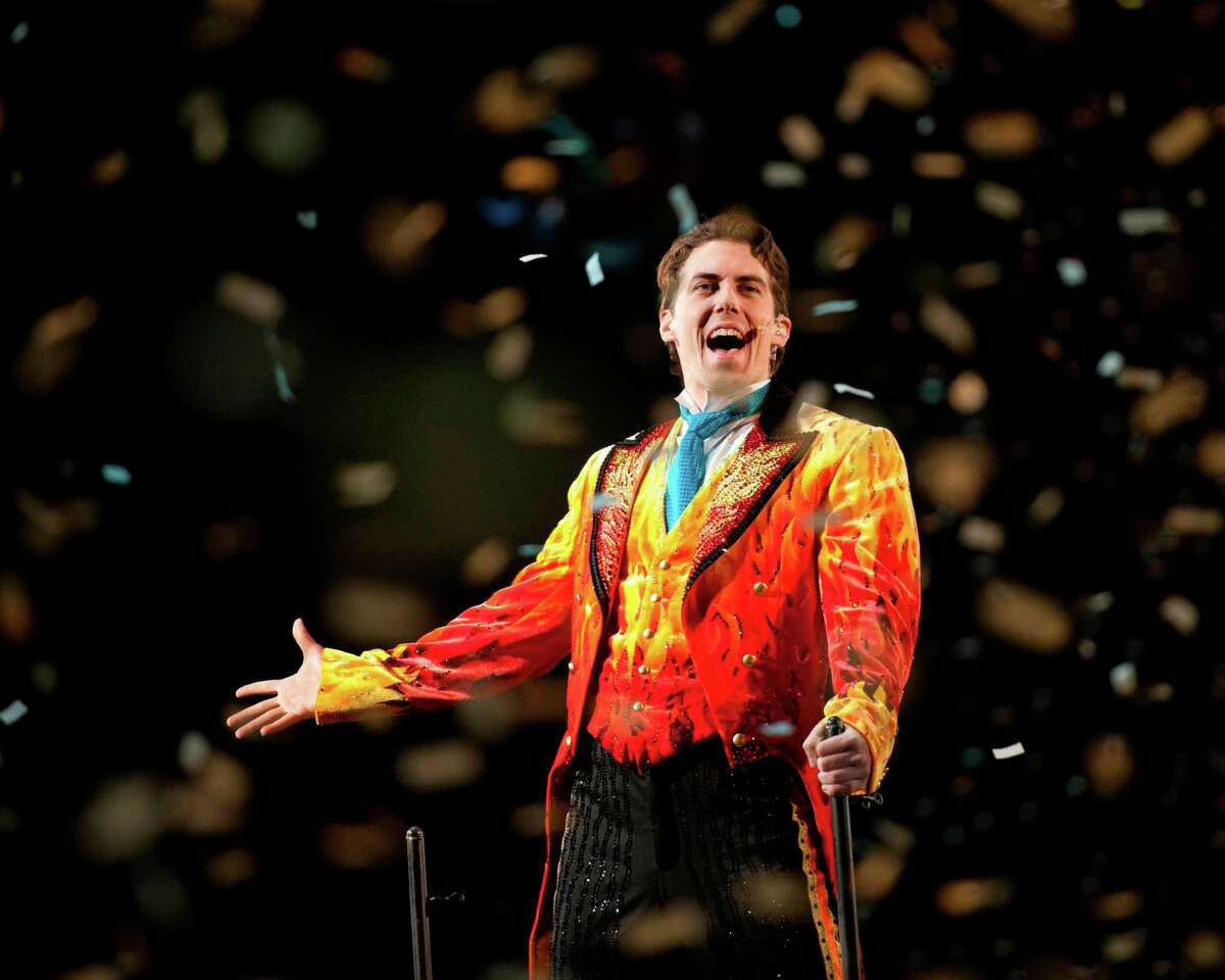 The Ringling Bros. and Barnum & Bailey Greatest Show on Earth comes to Bridgeport Oct. 18-21. Above is Ringmaster Brian Crawford.