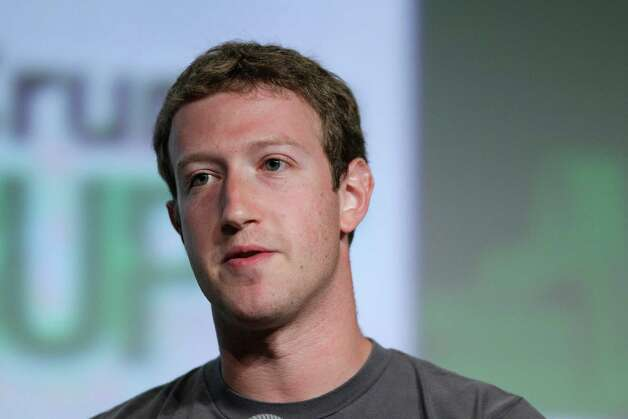 25. Mark Zuckerberg, 28, co-founder, chairman and CEO of Facebook. Photo: Eric Risberg, STF / AP