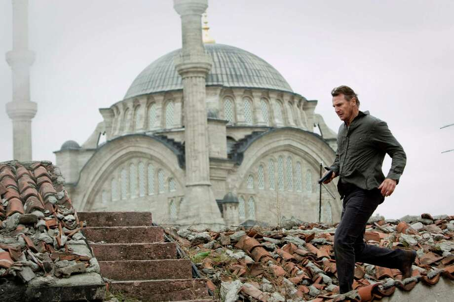 Bryan Mills (Liam Neeson) races across Istanbul to save his family. Magali Bragard/Twentieth Century Fox Photo: Magali Bragard / © 2012 EUROPACORP – M6 FILMS - GRIVE PRODUCTIONS.  All rights reserved.  Not for sale or duplication.