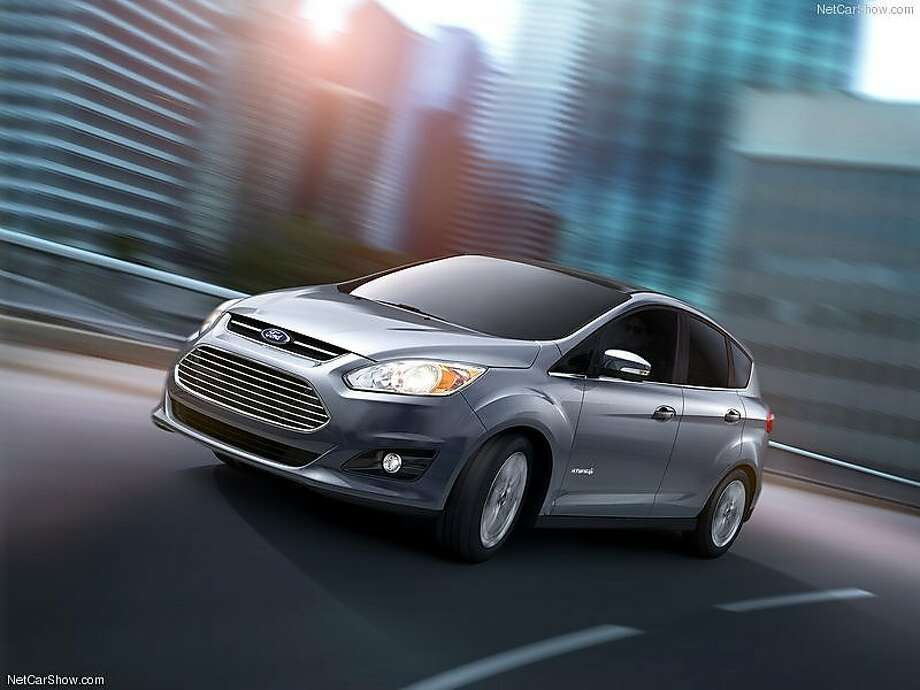 Ford will reduce gas mileage estimates for its C-Max hybrid from 47 mpg to 43 mpg, after a government probe into drivers' complaints over actual mileage. Photo: Ford.com
