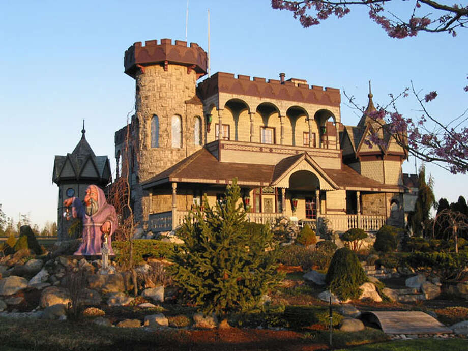 Not far from Poulsbo, in Gardiner, Wash., is the Troll Haven development, which features the Gate Keeper's Castle. Photo: Troll Haven
