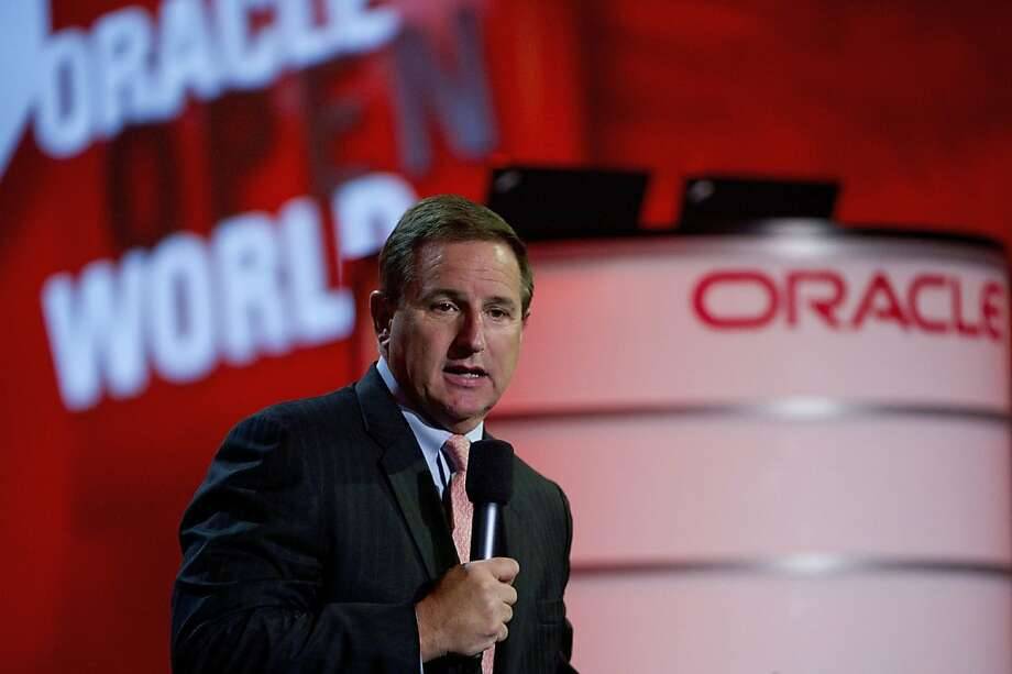 Oracle's Mark Hurd says the volume of data could grow 50 times before 2020. Photo: David Paul Morris, Bloomberg