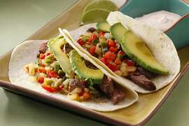 Steak Tacos as seen in San Francisco, California, on Wednesday, October 3, 2012. Food styled by Amanda Gold.