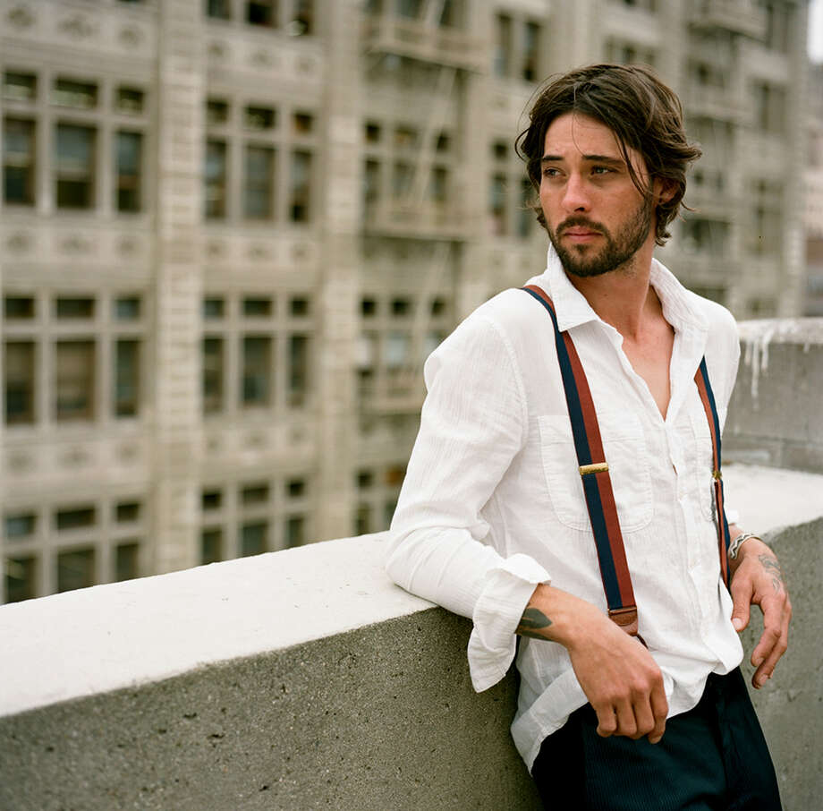 "Ryan Bingham plays his own lead guitars on new album ""Tomorrowland,"" which boasts a more spirited feel. Photo: Anna Axter"