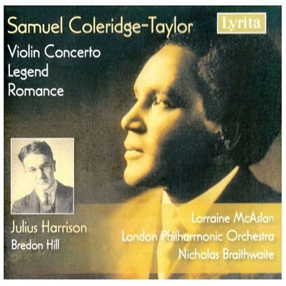 "CD cover for ""Samuel Coleridge-Taylor: Violin Concerto; Legend; Romance"" Photo: N/a"