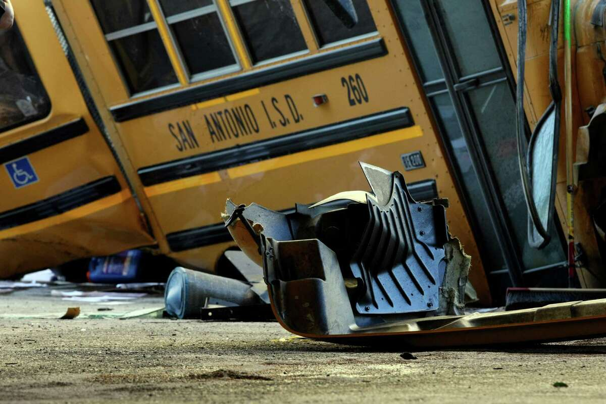 2. San Antonio Independent School District Bus accidents: 61 Students involved: 580 Adults involved: 0 Fatalities: 0