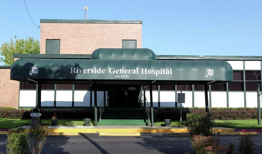 Riverside General Hospital is facing legal and financial problems. Photo: James Nielsen / © Houston Chronicle 2012