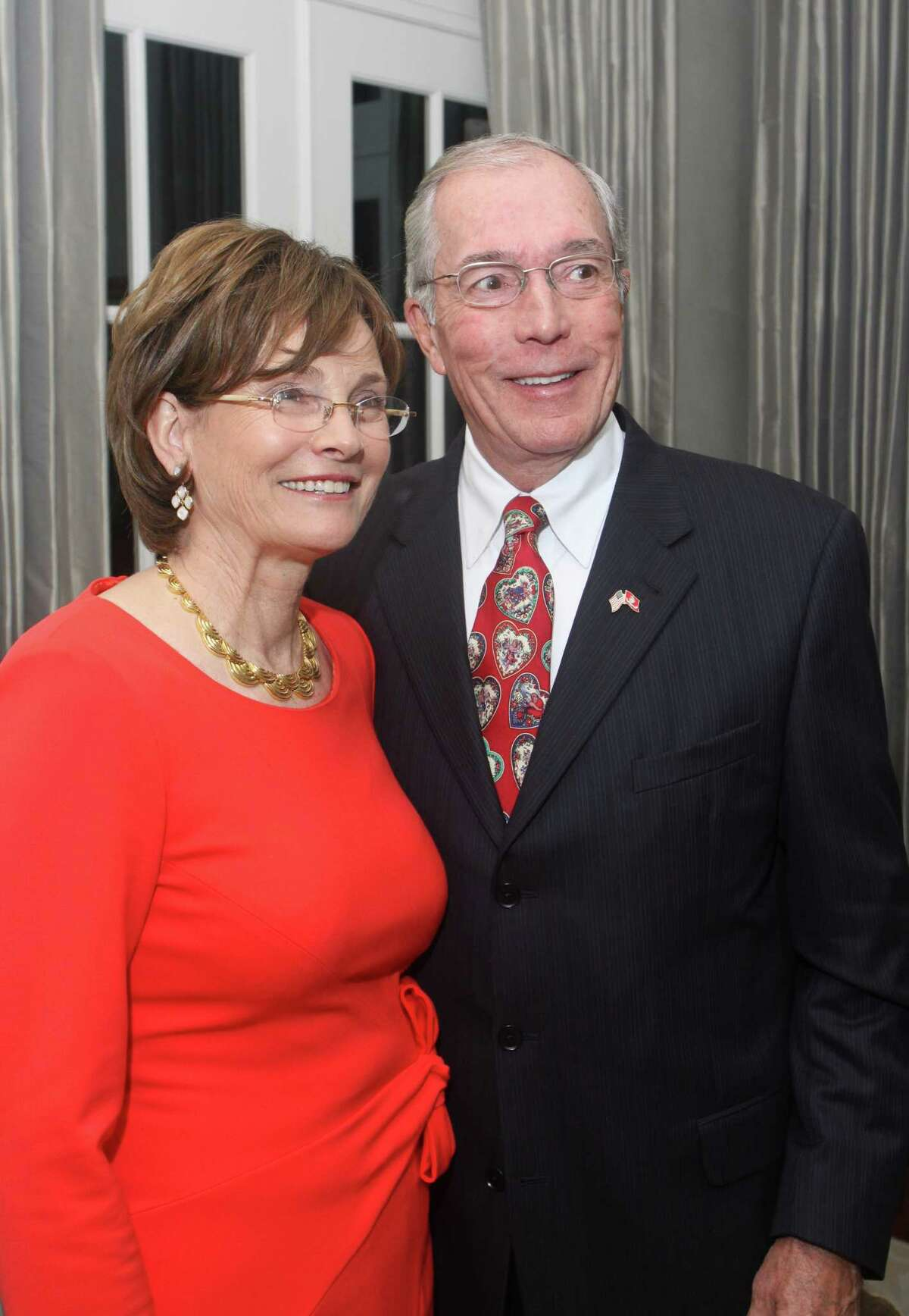 (For the Chronicle/Gary Fountain, January 25, 2012) Chairs Bobbie and John Nau.