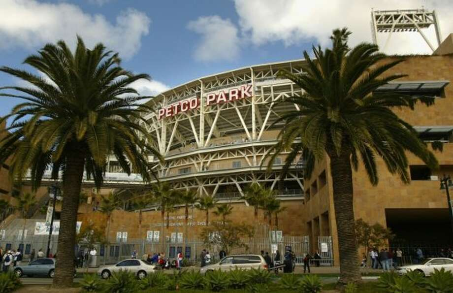 9. Petco Park, home of the San Diego Padres. Homes cost $435 per month, 1.92 times the area average. Photo: Getty Images
