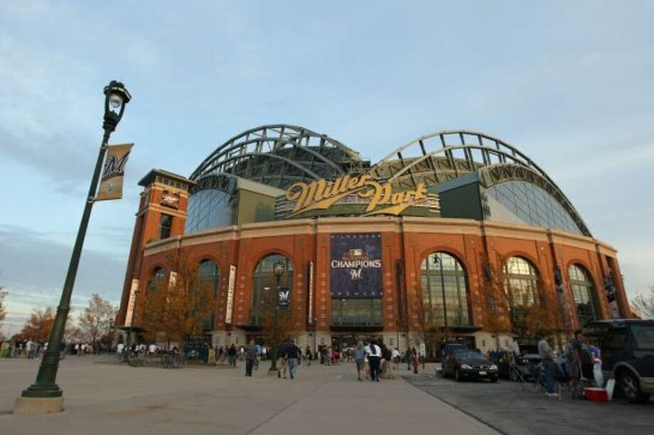 26. Miller Park, home of the Milwaukee Brewers. Homes cost $72 per square foot, 0.67 times the area average. Photo: Getty Images