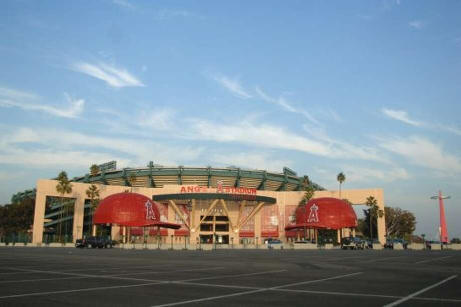 22. Angel Stadium of Anaheim, home of the Los Angeles Angels of Anaheim. Homes cost $247 per square foot, 0.89 times the area average. Angel Stadium and Citi Field are the best examples of big-discount stadiums in pricey markets. Photo: Getty Images