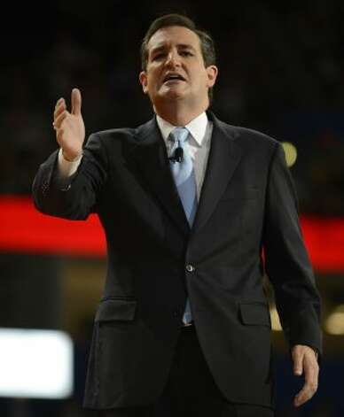 Ted Cruz, U.S. Senate candidate from Texas speaks  at the second day of the Republican National Convention in Tampa, Florida, Tuesday, August 28, 2012. (Lionel Hahn/Abaca Press/MCT) (Lionel Hahn / McClatchy-Tribune News Service)