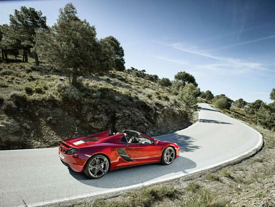 McLaren 12C Spider Photo: Patrick Gosling, McLaren Automotive / McLaren Automotive