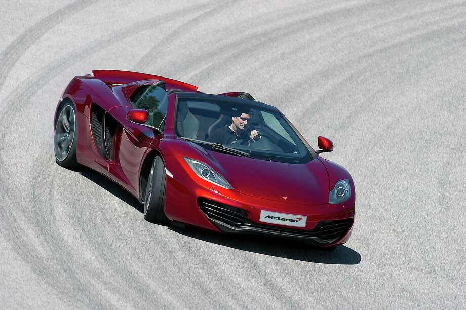 The company also has the standard McLaren 12C Spider.  Photo: McLaren Automotive