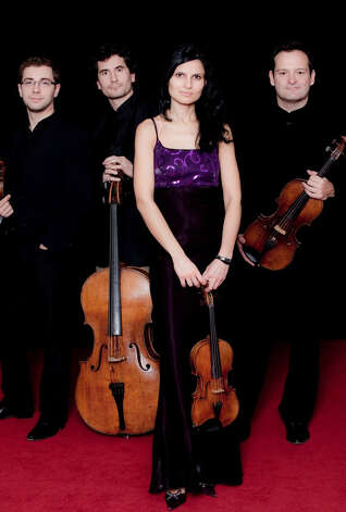 Belcea Quartet performs Nov. 8, 2012, as part of the Union College Concert Series. (Courtesy Arts Management Group)