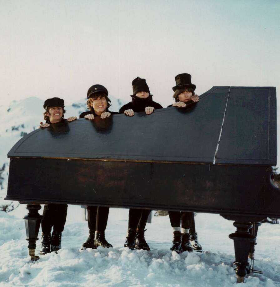 The Beatles release the feature film Help! in 1965. Photo: Anonymous, ASSOCIATED PRESS / Associated Press