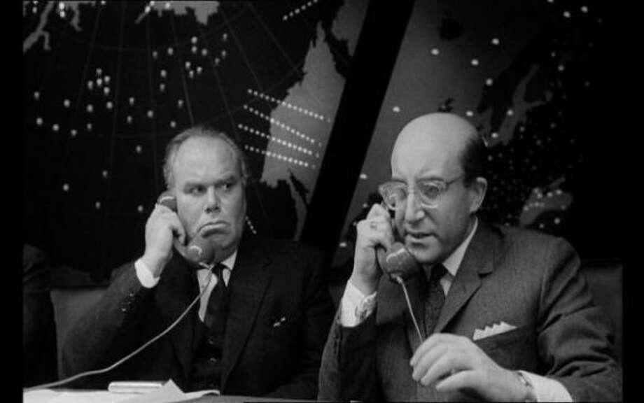 "Peter Sellers as President Merkin Muffley in ""Dr. Strangelove."" (jtyler) (Columbia Pictures 1964)"