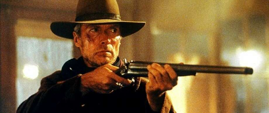"Clint Eastwood in ""Unforgiven"" (1992), for which he won best director and best picture. (bauhaus) (Warner Bros. 1992 / ONLINE_YES)"