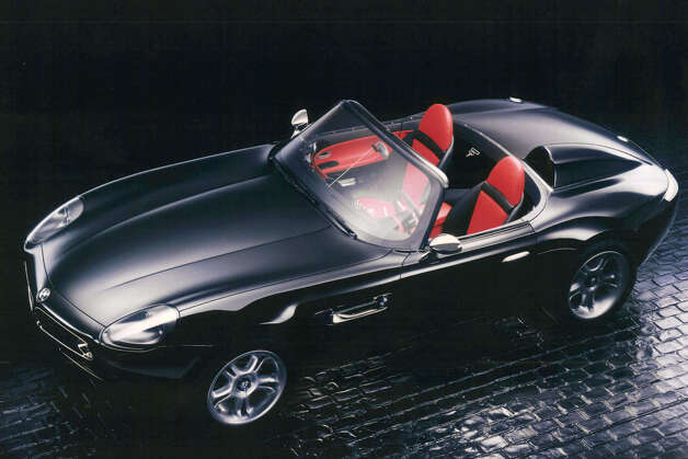 "The BMW Z8 was not in production in time for ""The World is Not Enough,"" so film makers used a Cobra kit car with a BMW body for filming. Photo: Anonymous, ASSOCIATED PRESS / AP1999"